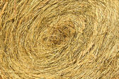 The straw braided in a roll — Stock Photo