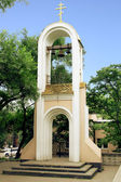 La torre del campanario. — Foto de Stock