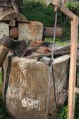锯、 斧、 锤、 和其他工具 — 图库照片