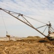 Foto Stock: Working huge, walking dredge