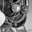 Stock Photo: Part of the mechanism of the sewing-machine