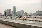 Fountains in Shanghai — 图库照片