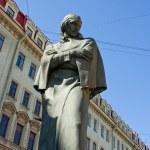 Постер, плакат: The monument to Nikolai Gogol