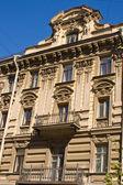 архитектура зданий в центре санкт-петербурга. россия. — Стоковое фото