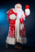 Gruß santa — Stockfoto
