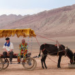 Stock Photo: Chinese Xinjiang Huoyanshlandscape