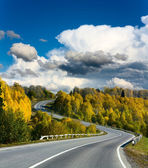 Landscape with road — Stock fotografie
