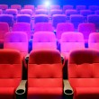 Rows of theater seats — Stock Photo #13340677