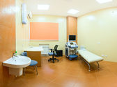 Procedural room in hospital — Stock Photo