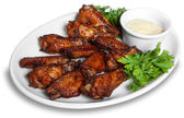 Chicken wings — Stock fotografie
