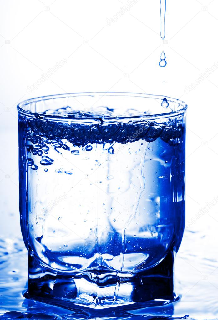 Cold water in a glass — Stock Photo © gornist #13341081
