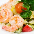 Salad with shrimps — Stock Photo #35685919