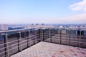 Balcony view — Stock Photo