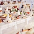 Wedding banquet in restaurant — Stock Photo #16052961
