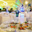 Wedding banquet in restaurant — Stock Photo #20989053