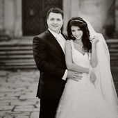 婚礼情侣 — 图库照片