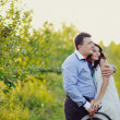 Romantic couple embrace — Stock Photo #22145233