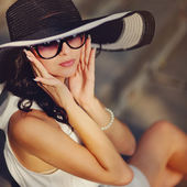 Fashion girl — Foto Stock