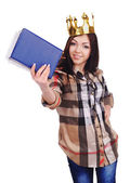 Student queen — Stock Photo