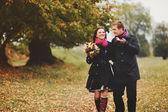 Embracing love — Stock Photo