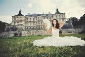 Prachtige bruid — Stockfoto