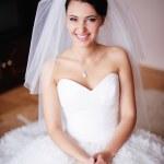Постер, плакат: Gorgeous bride smiles
