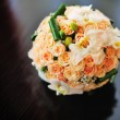 Orange Wedding Bouquet — Stock Photo