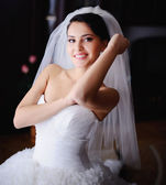 Bride's portrait — Stock Photo