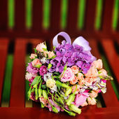 Magnificent Bridal Bouquet — Stock Photo