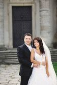 Classical wedding portrait — Stock Photo