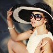 Young summer girl wearing a hat — Stock Photo #24875157