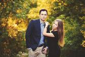 年轻夫妇肖像 — 图库照片