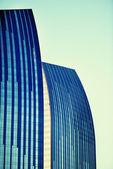 Liberdade da cidade empresarial — Foto Stock