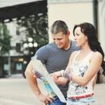 Touristen-paar — Stockfoto #29876153