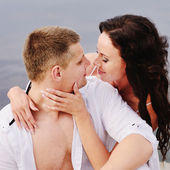 Sensual young couple — Stockfoto