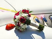 Svatební kytice — Stock fotografie