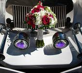 Krásná svatební kytice — Stock fotografie