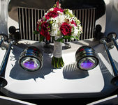 Piękny bukiet ślubny — Zdjęcie stockowe
