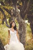 European bride — Stock Photo