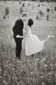 Para młoda ślub — Zdjęcie stockowe