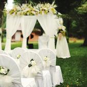 Beautiful wedding ceremony — Stock Photo
