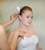 европейская молодая невеста — Стоковое фото