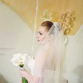 European young bride — Stock Photo