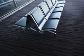 Interior of the airport. — Stock Photo