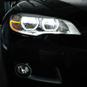 Headlight — Stock Photo