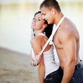 Sexy young couple — Foto de Stock