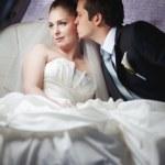 Classic wedding picture — Stock Photo