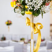Wedding banquet in a restaurant — Stock Photo