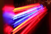 Neon at street. — Stock Photo