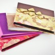 Colorfull homemade exclusive DVD Cases — Stock Photo